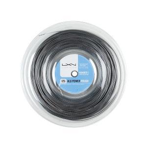 ルキシロン ビッグバンガー アルパワー ラフ(1.25mm) 220Mロール 硬式テニス ポリエステ...
