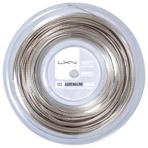 ルキシロン アドレナリン ラフ(1.25mm) 200Mロール 硬式テニスガット ポリエステルガット Luxilon Adrenaline Rouch strings WRZ9903