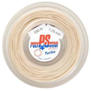 ポリスター ターボ(1.25/1.30/1.35mm) 200Mロール 硬式テニスガット ポリエステルガット Polystar Turbo 200m roll strings|amuse37