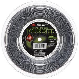 ソリンコ ツアーバイト ダイアモンド ラフ(1.20/1.25/1.30mm) 200Mロール ポリエステル ガット (Solinco Tour Bite DIAMOND ROUGH)【2015年10月登録】|amuse37