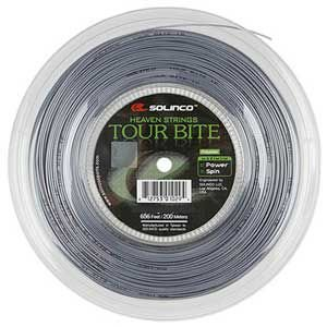 ソリンコ ツアーバイト(1.05/1.10/1.15/1.20/1.25/1.30/1.35mm) 200Mロール 硬式テニス ポリエステル ガットSolinco Tour Bite  (1.15/1.20/1.25/1.30)|amuse37