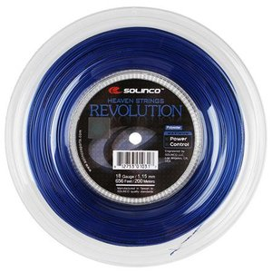 ソリンコ レボリューション(1.15/1.20/1.25/1.30mm) 200Mロール 硬式テニスガット ポリエステルガット Solinco Revolution  (1.15/1.20/1.25/1.30)|amuse37
