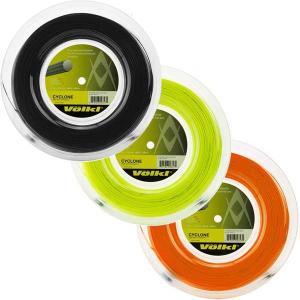フォルクル サイクロン(1.20mm/1.25mm/1.30mm) 200Mロール 硬式テニス ポリエステルガット【2017年5月登録】|amuse37