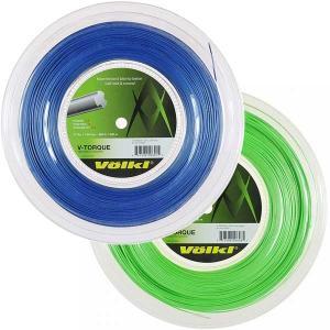 フォルクル Vトルク(1.18mm/1.23mm/1.28mm) 200Mロール 硬式テニス ポリエステルガット【2017年5月登録】|amuse37