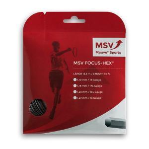 【12Mカット品】MSV フォーカスヘックス(1.10/1.18/1.23/1.27mm) 硬式テニスガット ポリエステルガット MSV Focus HEX strings|amuse37