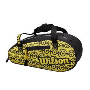 ウィルソン(Wilson) 2021 Wilson×Minions ミニオンズ ミニバッグ ポーチ 小物入れ WR8013901001-ブラック×イエロー(21y4m)|amuse37