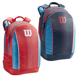 [ジュニア用ラケット収納可]ウィルソン(Wilson) 2021 ジュニア バックパック テニスバッグ WR8012901001/WR8012904001(21y3m)|amuse37