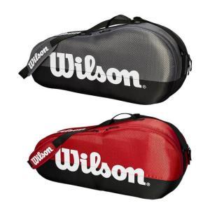 [3本収納]ウィルソン(Wilson) TEAM 1 COMP ラケットバッグ WRZ854903/WRZ857903(19y3m)