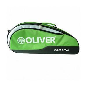 [バドミントン・スカッシュ][3本収納]OLIVER(オリバー) PRO LINE(プロライン) 一層ラケットバッグ C55023-ライムグリーン(20y2m) amuse37
