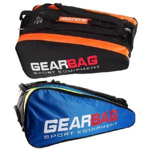 [バドミントン・スカッシュ][12本収納]OLIVER(オリバー) GEAR BAG(ギアバッグ) 3層バッグ ラケットバッグ C06049/C06050(20y2m) amuse37