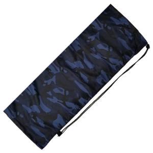 [はっ水加工]フェリーチェ(felice) バドミントンラケット用ソフトケース(1本用) -迷彩柄ブルー(20y9m) amuse37