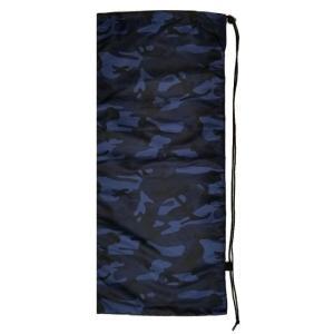 [はっ水加工]フェリーチェ(felice) テニスラケット用ソフトケース(2本収納可) 迷彩柄ブルー (19y10m) amuse37