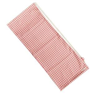 [ラケットケース 便利なソフトタイプ]フェリーチェ(felice) テニスラケット用ソフトケース(2本収納可) ギンガムチェック(ピンクxオフホワイト) (19y9m) amuse37