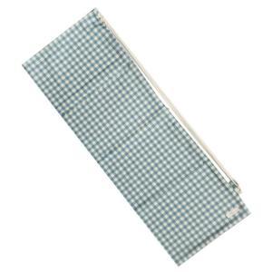 [ラケットケース 便利なソフトタイプ]フェリーチェ(felice) バドミントンラケット用ソフトケース(1本用) ギンガムチェック(ライトブルーxオフホワイト) (19y9m) amuse37