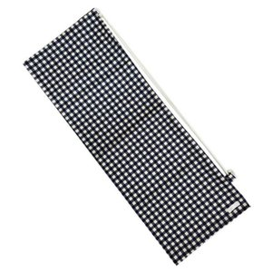 [ラケットケース 便利なソフトタイプ]フェリーチェ(felice) バドミントンラケット用ソフトケース(1本用) ギンガムチェック(ネイビーxオフホワイト) (19y9m) amuse37