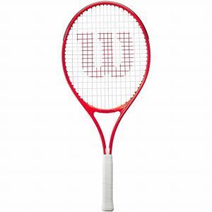 ウィルソン(Wilson) 2021 ROGER FEDERER25 ロジャーフェデラー25 (225g) 海外正規品 硬式ジュニアテニスラケット WR054310H-レッド(21y3m)[AC]|amuse37