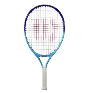 ウィルソン(Wilson) ULTRA BLUE21 ウルトラブルー21 (195g) 海外正規品 硬式ジュニアテニスラケット WR053610H-ブルー(21y3m)[AC]|amuse37