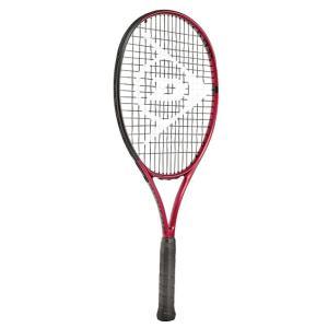 ダンロップ(DUNLOP) CX JNR 25 シーエックスジュニア 25 (210g) 国内正規品 硬式テニスジュニアラケット 21DCXJNR25-レッド×ブラック(21y2m)[AC]|amuse37