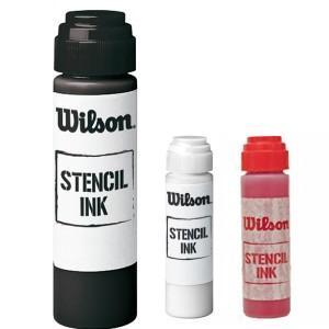 ウィルソン ステンシルインク (ブラック・レッド・ホワイト)  (Wilson Stencil INK)WRZ74 amuse37