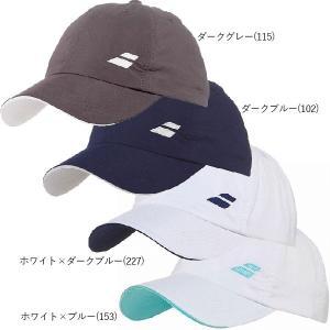 バボラ 2016 ジュニア ベーシック ロゴ キャップ 5JS16221(Babolat Kid's Basic Logo Hat)(全4色)【2016年1登録】|amuse37