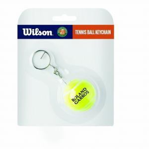 在庫処分特価】ウィルソン(Wilson) ROLAND GARROS R ローランギャロス テニスボール キーチェーン WR8401401001(21y4m)|amuse37
