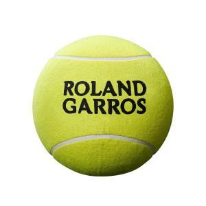 [直径約12cm]ウィルソン(Wilson) ローランギャロス ミニ ジャンボ ボール WRT1416YD(20y7m)|amuse37