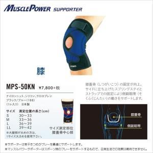 【膝サポーター】ヨネックス マッスルパワー サポーター MPS-50KN (YONEX MUSCLEPOWER SUPPORTER)【2016年6月登録】 amuse37