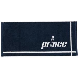 在庫処分特価】プリンス(Prince) ロゴ入り フェイスタオル 透明ケース付き PT755-127 ネイビー(21y4m)|amuse37