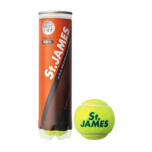 DUNLOP(ダンロップ)「St.JAMES(セントジェームス)(1缶/4球)」硬式テニスボール