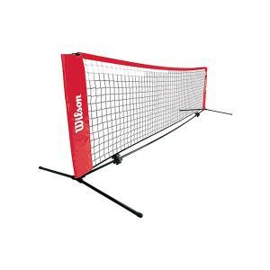 【どこでも子供とテニスができます♪】 スターターテニスネット5.5M (Wilson Starter Tennis Net 18feet) WRZ2590|amuse37
