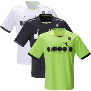 在庫処分特価】ディアドラ(Diadra) ジュニア(ボーイズ) ロゴトップ 半袖Tシャツ DTJ0580(21y3mテニス)|amuse37