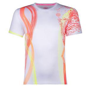 BIDI BADU(ビディバドゥ) 2020 FW ジュニア(ボーイズ) ヌカ(Nuka) テック 半袖Tシャツ B369002202-WHN ホワイト×ネオン(21y2mテニス)|amuse37