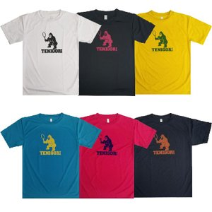 TENIGORI(テニゴリ) ジュニア ロゴプリントTシャツ ワイルド ジャンボゴリラ TGJT001(20y4mテニス)|amuse37