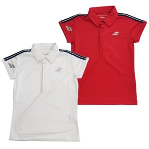 在庫処分特価】バボラ(Babolat) ジュニア(ガールス) ゲームシャツ 半袖ポロシャツ BTJOJA01(21y3mテニス)|amuse37