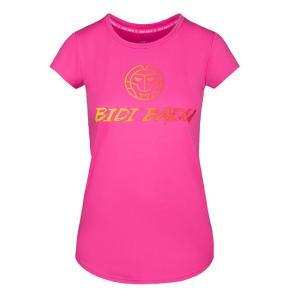 BIDI BADU(ビディバドゥ) 2020 FW ジュニア(ガールズ) マレイカ(Maleika) ベーシック ロゴ半袖Tシャツ G358033202-PK ピンク(21y2mテニス)|amuse37