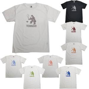 [日本サイズ]TENIGORI(テニゴリ) ユニセックス カモフラ柄 半袖Tシャツ TGMT014(21y3mテニス)|amuse37