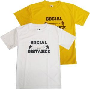 [日本サイズ]TENIGORI(テニゴリ) ユニセックス ソーシャルディスタンス グラフィックTシャツ TGMT012(20y9mテニス)|amuse37