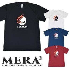 全4色![日本サイズ]MERA2(メラメラ) ユニセックス ベーシックロゴ フロントプリント ドライTシャツ MRT001(21y4m)|amuse37
