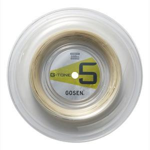 【200mロール巻】ゴーセン ジートーン5(0.65mm) BS0652 バドミントンガット(GOSEN G-TONE5)