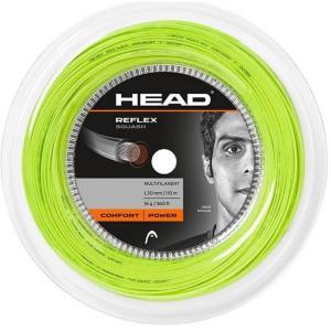 ヘッド(HEAD) リフレックス スカッシュ 18G(1.20mm) イエロー 110Mロール スカッシュ マルチフィラメントガット 281216(19y4m) amuse37