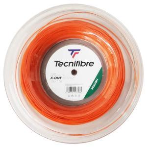 [スカッシュ用ガット]テクニファイバー(Tecnifibre) エックスワンバイフェイズ 18(1.18mm) 200Mロール マルチフィラメントガット 06RXON1180-オレンジ(20y10m) amuse37