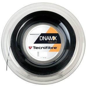 テクニファイバー(Tecnifibre) DNAMX 17(1.20mm) ブラック 200Mロール スカッシュ マルチフィラメントガット (19y4m) amuse37