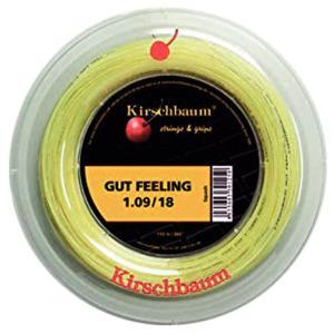 [スカッシュ用]キルシュバウム(Kirschbaum) ガットフィーリング 18(1.09mm) 110Mロール スカッシュ マルチフィラメントガット (19y11m)