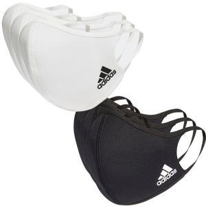 アディダス(adidas) ユニセックス フェイスカバー 3枚組 ウォッシャブルタイプ 洗えるマスク H34578/H08837 (20y12m)|amuse37