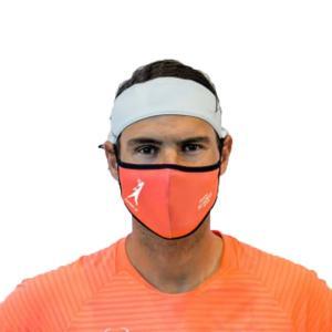 [2021全豪オープンエディション]ラファエル・ナダル(Rafa Nadal) 大人用 RAFA NADAL ACADEMY 布製スポーツマスク メルボルン2021 (21y3m)|amuse37