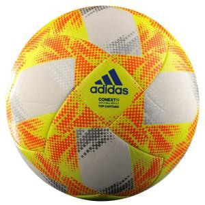 アディダス(adidas) CONEXT19(コネクト19) Top Capitano(トップキャピタノ)サッカーボール AF5873WR/AF4873WR-ホワイト×イエロー(19y12m)|amuse37