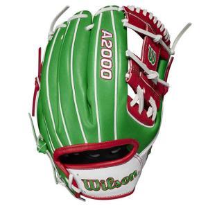 [メキシコ]ウィルソン(Wilson) 2021 A2000シリーズ カントリープライド 限定版 1786 11.5インチ 内野手用グローブ WBW100334115-MEXICO(21y2m)|amuse37