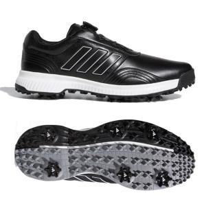 アディダス(adidas) メンズ CP トラクションボア ソフトスパイク ゴルフシューズ DBB81-F34199 コアブラック×クラウドホワイト×シルバーメタリック(20y12m)|amuse37