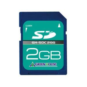 グリーンハウス SDメモリーカード GH-SDC2GG (2GB)|amuseland