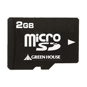 グリーンハウス SDメモリーカード GH-SDMR2GA [2GB]|amuseland